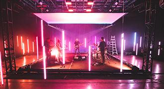 ジミー・イート・ワールドのコンサート、URSA Mini Pro 12Kを使いBlackmagic RAWで撮影