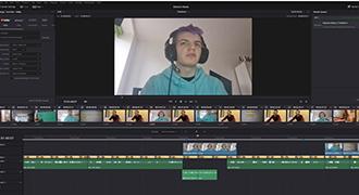 サルフォード・シティ・カレッジのメディアプロダクション課程、オンライン授業にDaVinci Resolveを導入