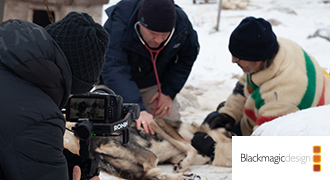 CBCのオリジナルシリーズ、「Arctic Vets」をURSA Mini Pro 12Kで撮影