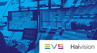 EVS社 Haivision社との連携によりスポーツ中継のリモートリプレイ運用を開始