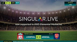 AWSElemental MediaLiveがSingularをサポート