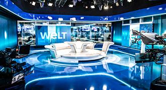 Vizrtは、高度に自動化されたスイッチレスのSMPTE 2110プロダクションで、ドイツのWeltに画期的なソフトウェア・ファースト・スタジオを提供