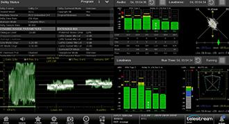 Telestream、新しいオーディオツールを搭載した最新のPRISMモニタリングソフトウェアをリリース