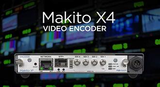 Haivision、最高品質のリアルタイム放送制作に貢献するビデオエンコーダ「Makito X4」を発表
