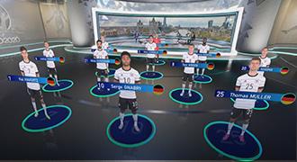 ITV Sport、Vizrt/AE Live(AE)のARビジュアルにより、「Euro2020」の印象的な報道を実現