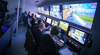 エレクトロニック・スポーツ・リーグのゲームスタジオの構築にBlackmagic Design製品を使用